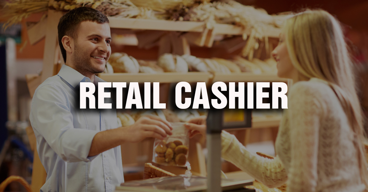 Retail Cashier Job Description