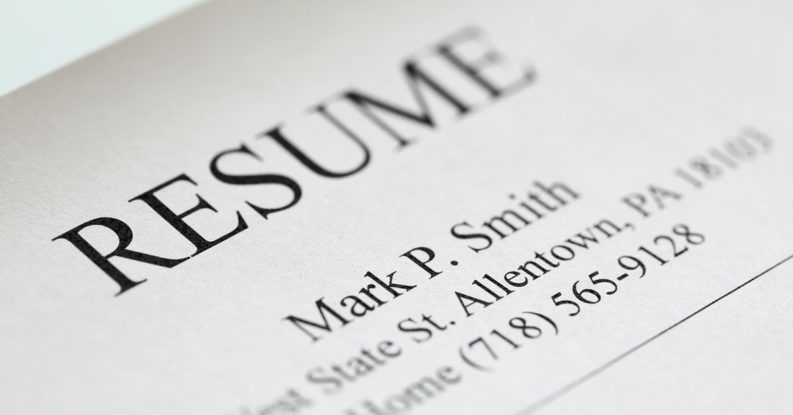 what font to use on your resume
