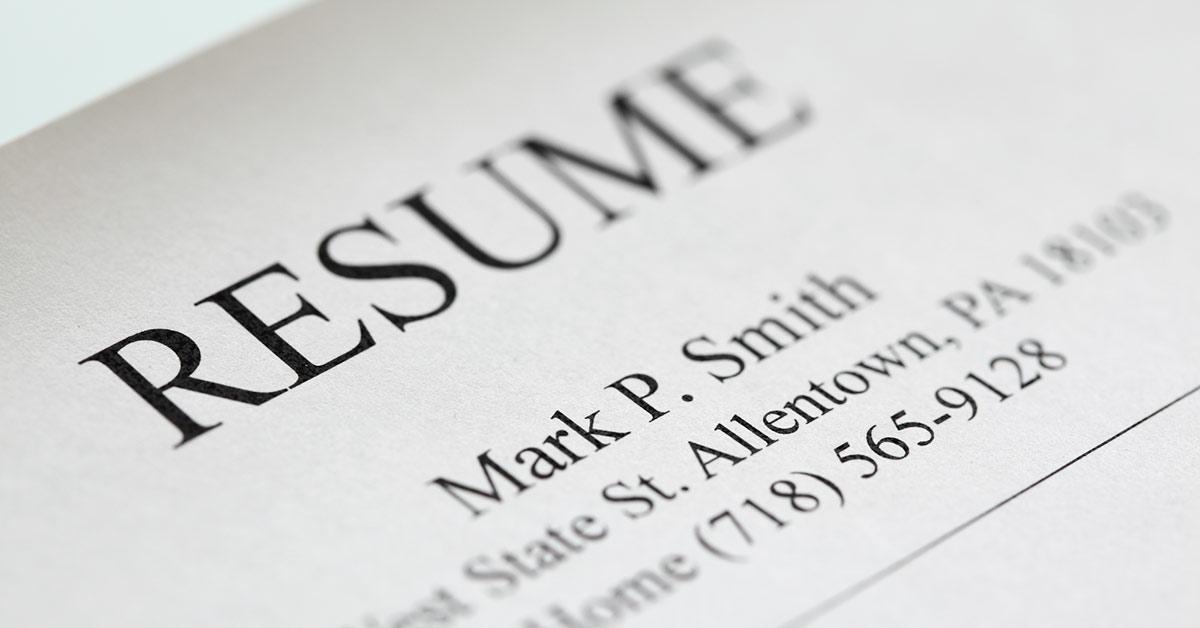 Resume Font Serif Vs Sans Serif