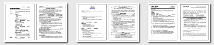 before after resume examples