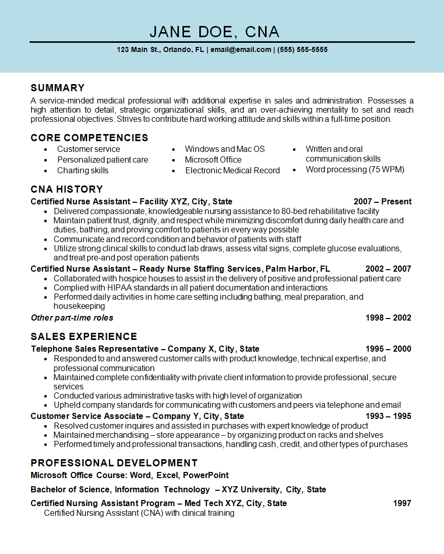 How To Do An Resume On Microsoft Word