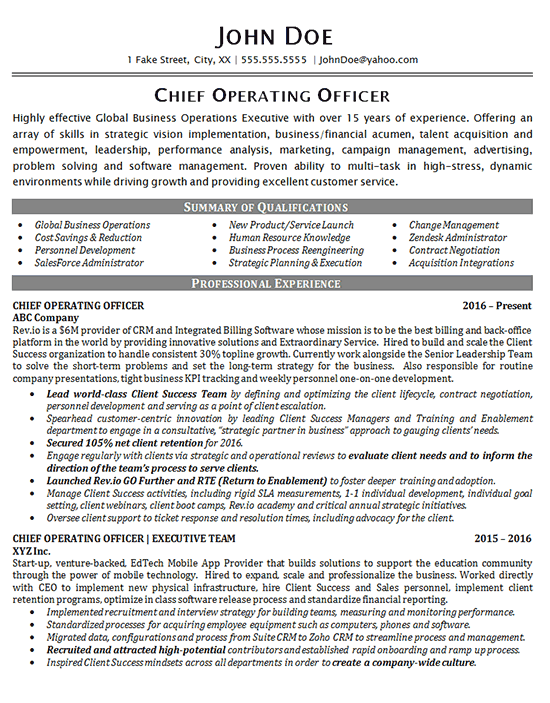 chief operating officer cover letter - Suzen.rabionetassociats.com