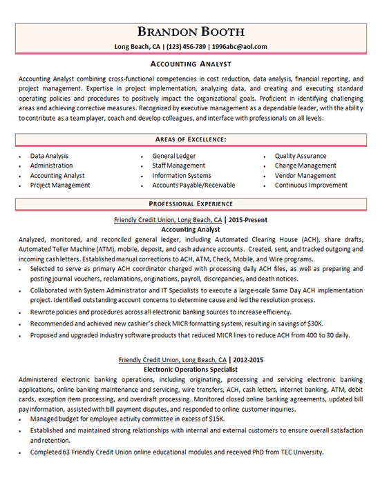 2019 Resume Examples Professionally Written