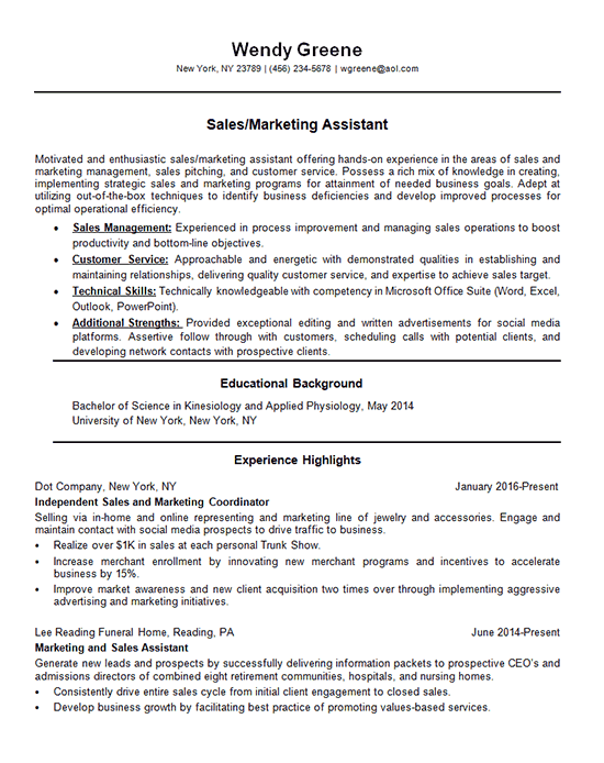 Business Resume Example 2019 90